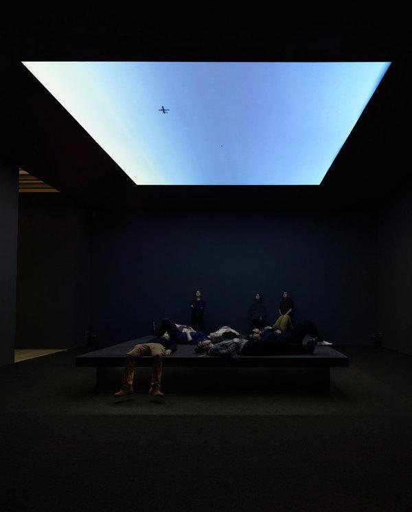 Bed Down Location van Laura Poitras in het Whitney Museum