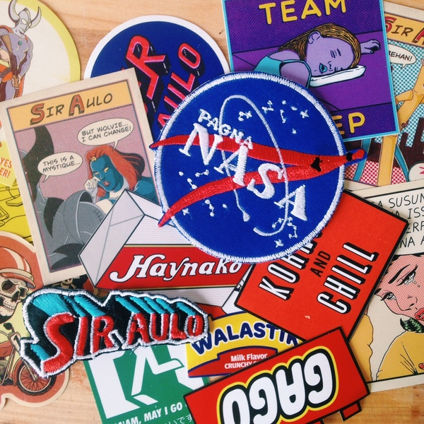 Fine Time Studios stickers and patches