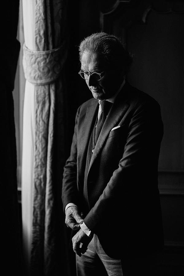 …portretteerde ik o.a. de Bossche burgemeester Rombouts voor De Zelfkrant.