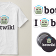 You can now support Botwiki -- and show your love of bots by buying a sticker