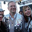 'Burning Man for the 1%': the desert party for the tech elite, with Eric Schmidt in a top hat