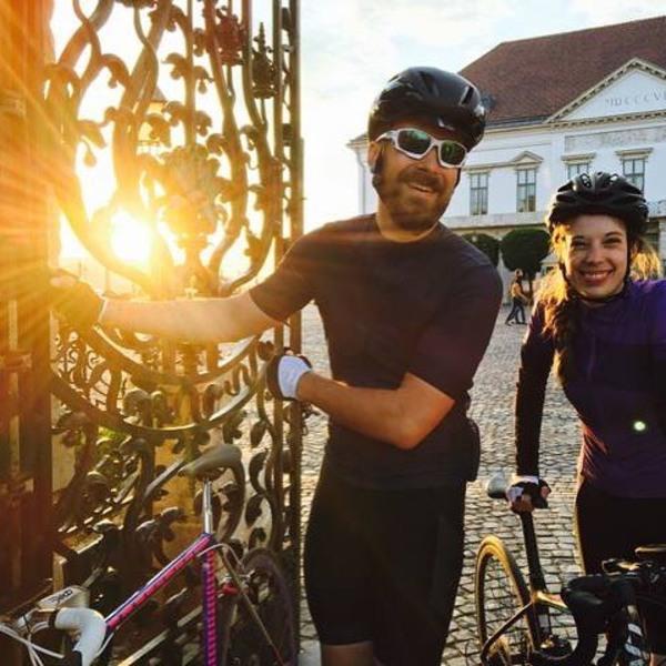 Shot from @alexanderrhind of @eloiseadler & me wearing HOY Vulpine Senko kit