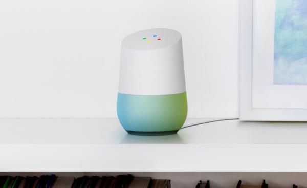 Een mooie rip off van de Amazon Echo. Maar dan op ondersteund door Google Assistent.