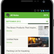 Evernote for Android App Beta Test