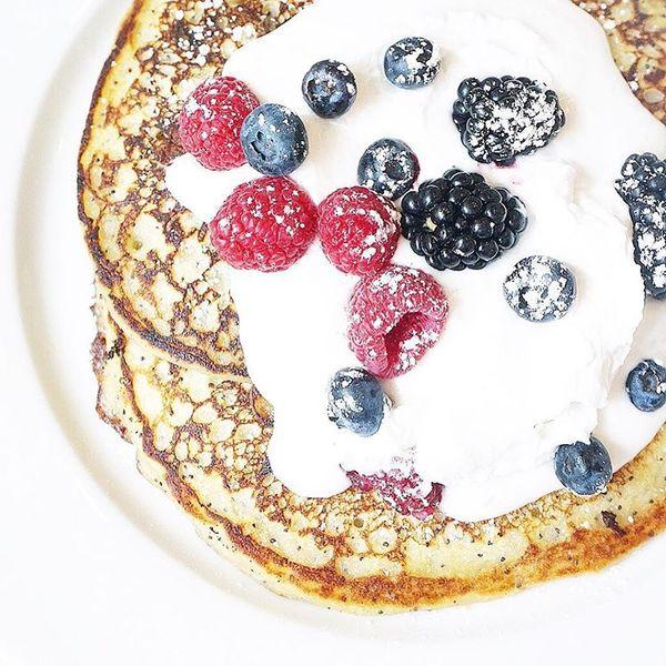 """Lemon Poppyseed Pancakes"" by Little Pine (@thetruespoon)"