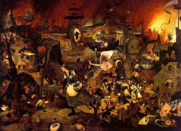 This depiction of hell really undersells it. Hell is much, much worse than this.