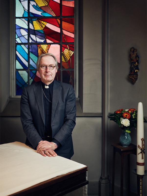 Portretteerde ik Gerard de Korte, de nieuwe bisschop van het bisdom Den Bosch