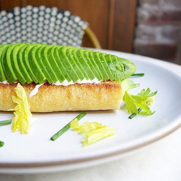 """Avocado Toast"" by Cento Pasta Bar (@lefooding)"