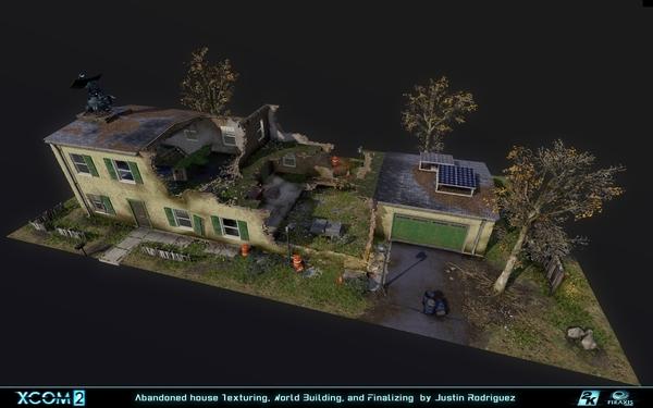 XCOM2 Environment Art Shot Shared on Polycount