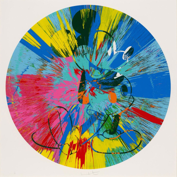 Beautiful Mickey by Damien Hirst uploaded by Lionel Gallery