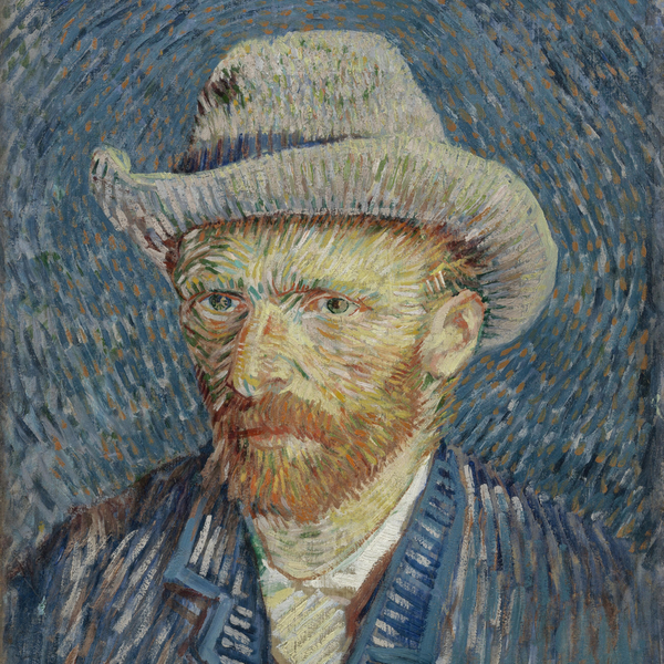 Self-Portrait with Grey Felt Hat uploaded by Van Gogh Museum