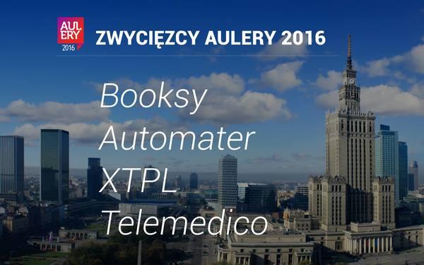 Gratulujemy zwycięzcom Aulery 2016!