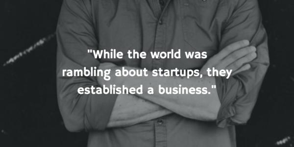 """"""" the funding you get is not a key to success."""" Gert-Jan van der Wel of Floorplanner"""