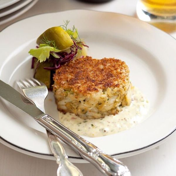 """Maryland Blue Crab Cake"" by Fishing With Dynamite (@eat_fwd)"