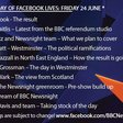 BBC's Newsnight creates instant 24 hour #EUref news channel using Facebook Live