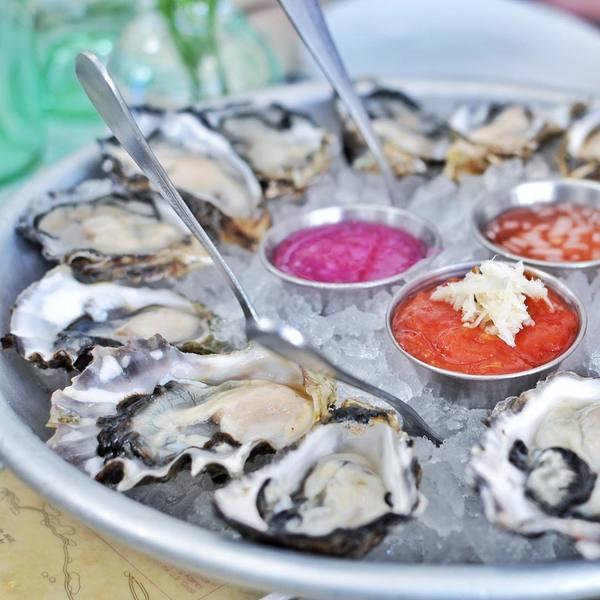 """Oysters"" by Blue Plate Oysterette (@kateatsla)"