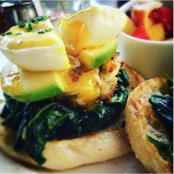 """""""Avocado and Crab Benedict"""" by La Grande Orangee (@lgocafe)"""