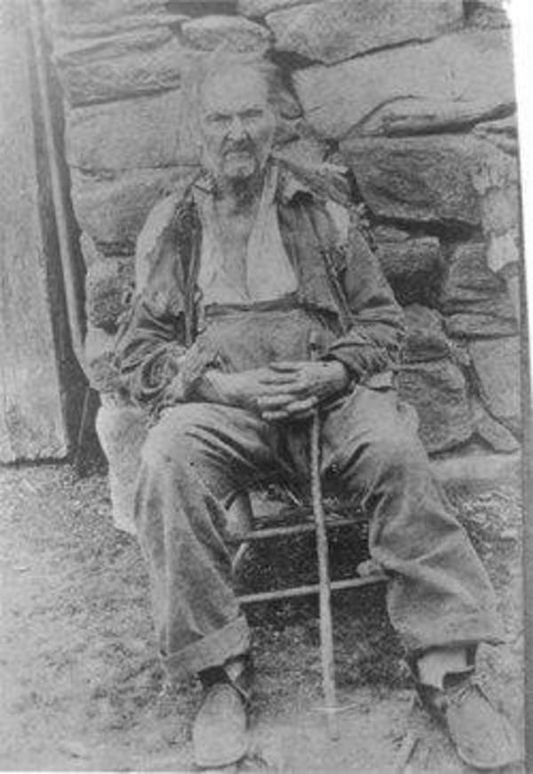 Uncle Fed Messer of Haywood County, NC