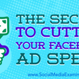 The Secret to Cutting Your Facebook Ad Spend : Social Media Examiner