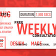 Free UX Consulting