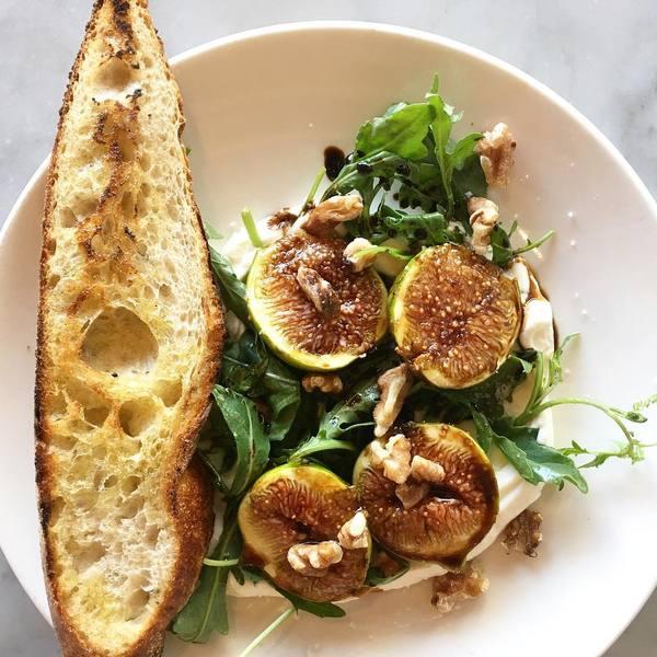 """Honey Roasted Figs and Mascarpone"" by Milo & Olive (@miloandolive)"