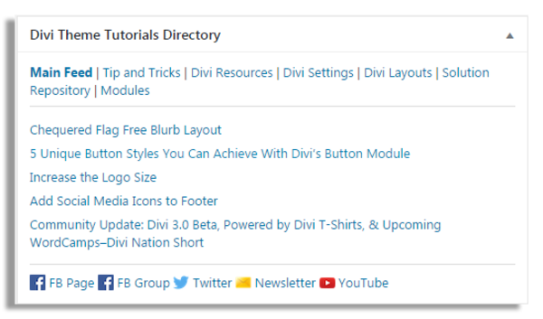 Divi Tuts Directory - Issue #3 Your Freebie is here! | Revue