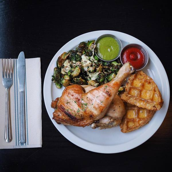 """Wood Roasted Chicken"" by Fritzi (@hungryinla)"