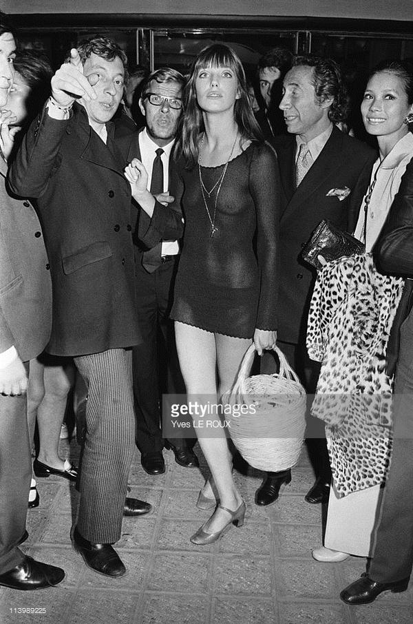 Serge Gainsourg & Jane Birkin. August 28, 1969.