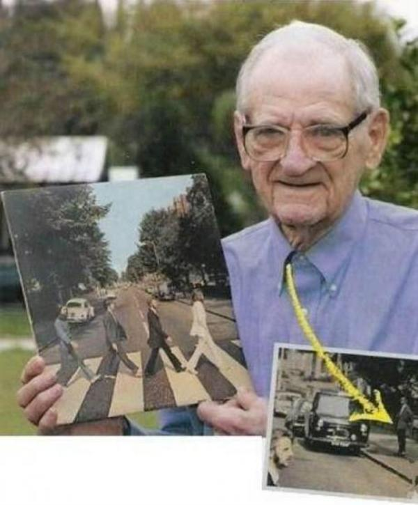 First photobomb ever!