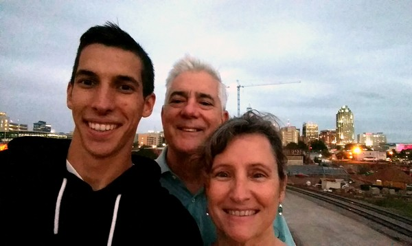 Mom & Dad hung out with me in Raleigh last week.