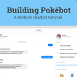 A NodeJS chatbot tutorial — Part 1