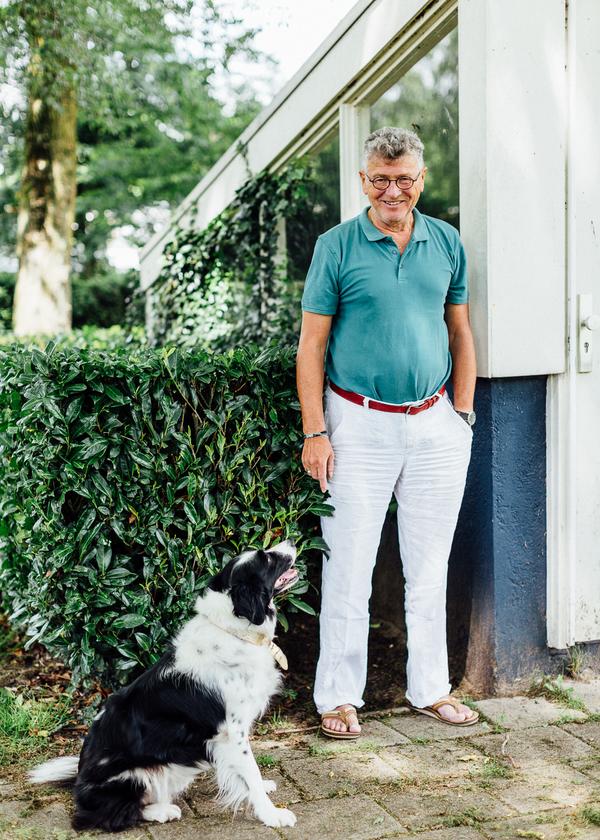 Portretteerde ik de Bossche strafrechtadvocaat mr. Pieter van der Kruijs.