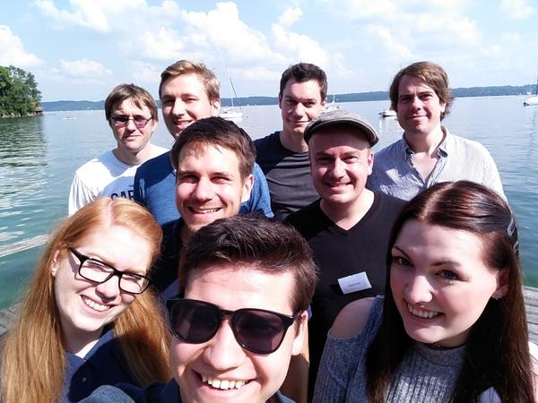 Das Crossmedia-Team der Tutzinger Radiotage