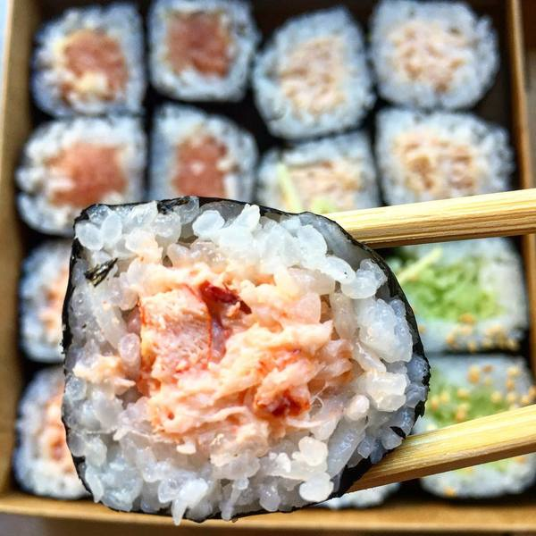 """Assorted Cut Rolls"" by KazuNori (@theyumdiaries)"