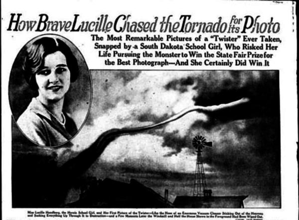 887baafc52 San Antonio Light Sunday Sept. 2, 1928 with Lucille's first photo