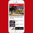 The BBC News app is rolling out vertical video in its latest revamp