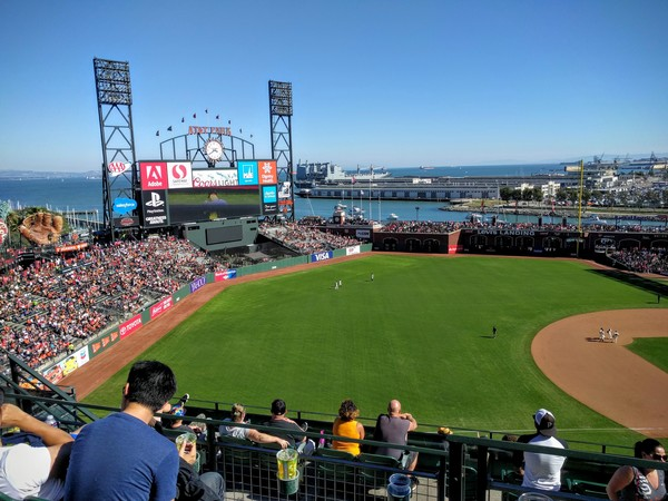 My mom and I went to the Giants game last Sunday. AT&T Park was beautiful, as usual. The Giants, not so much.