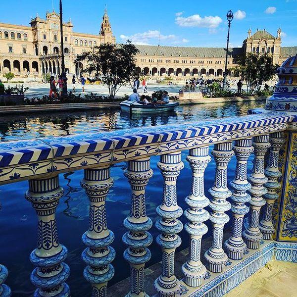 Séville et sa magnifique place d'Espagne