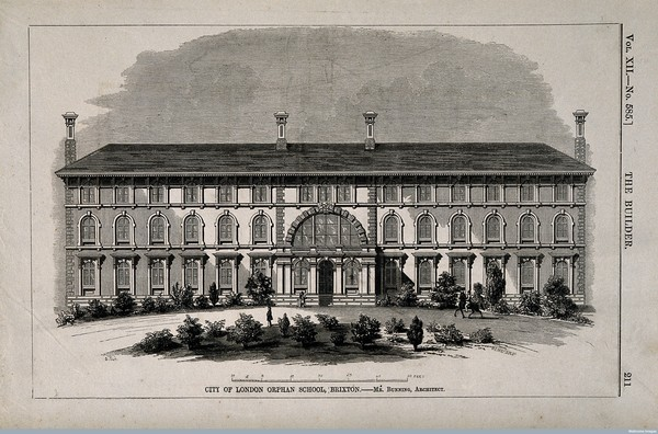 The City of London Freemen's Orphan School, Brixton, 'Wellcome Library, London'