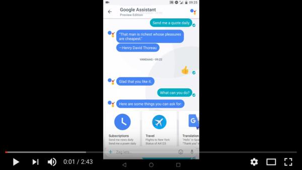 Google Allo to the test