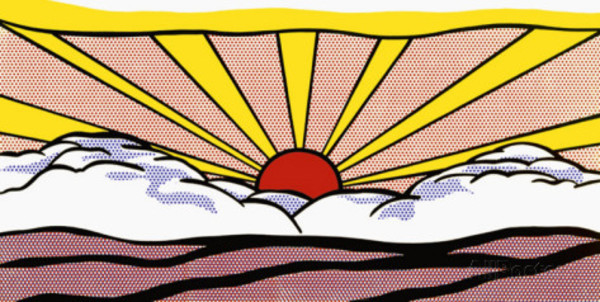 Roy Lichtenstein, Sunrise (1965)