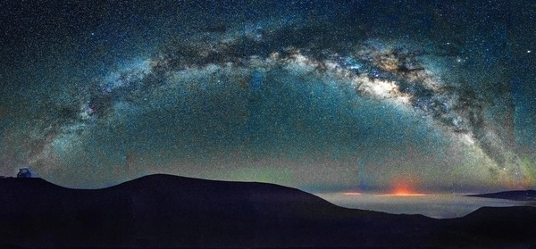 I did not take this picture of the Milky Way. Joe Marquez (New York Times) did.