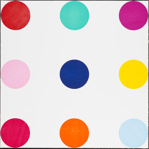 Tryptophan by Damien Hirst uploaded by Lionel Gallery