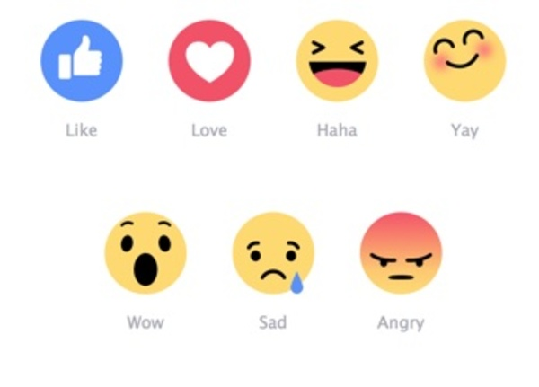 Click on your favorite emoticon above and like us on Facebook