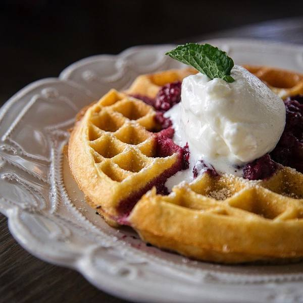 """Malted Waffle"" by Faith & Flower (@hungryinla)"
