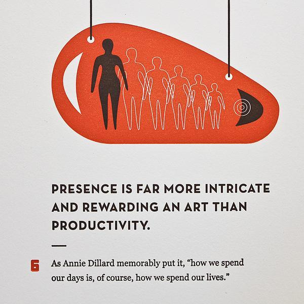 Poster by Holstee, inspired by BrainPicking