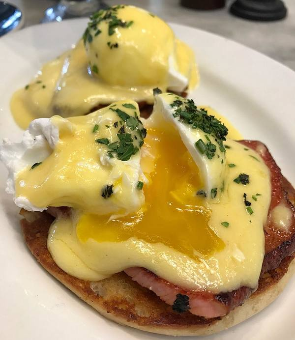 """Eggs Benedict"" by Joan's On Third (@foodie_ani)"