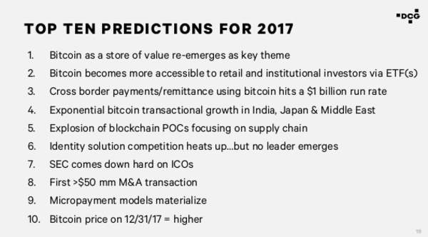 DCG's predictions for 2017. What do you think?