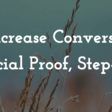 10 Advanced Ways I Increase Conversion Rates Using Social Proof