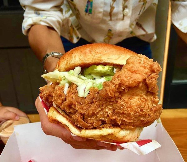 """Chicken Sandwich"" by Howlin' Rays (@howlinrays)"